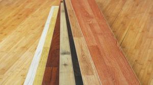 Il existe plusieurs bois différents pour le parquet.