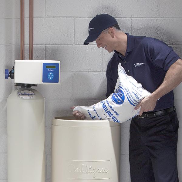 L'adoucisseur d'eau doit être entretenu régulièrement.