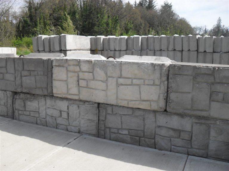 Mur de soutènement en parpaing creux